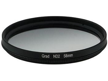 Globalmediapro Neutral Density ND2 Graduated Filter 58mm