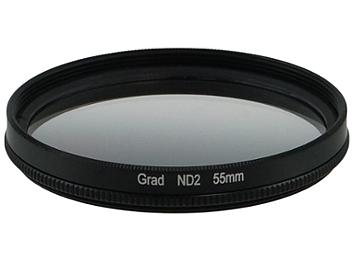 Globalmediapro Neutral Density ND2 Graduated Filter 55mm