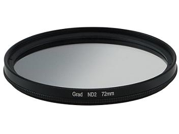Globalmediapro Neutral Density ND2 Graduated Filter 72mm
