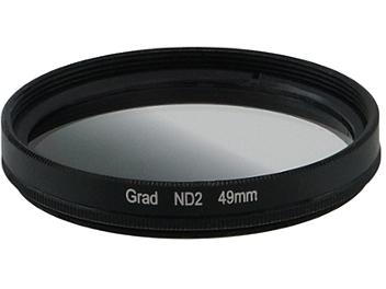Globalmediapro Neutral Density ND2 Graduated Filter 49mm