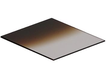 Globalmediapro Square 83 x 95mm Graduated Color Filter - Coffee