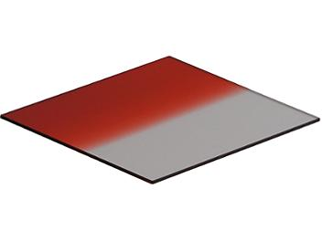 Globalmediapro Square 100 x 100mm Graduated Color Filter - Red