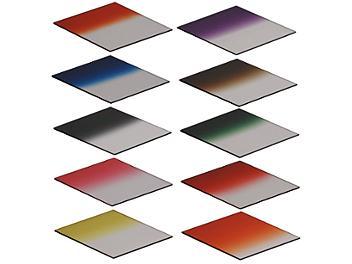Globalmediapro Graduated Color Filter Kit 001 (Square) 83 x 95mm, 10pcs
