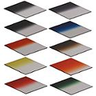Globalmediapro Graduated Color Filter Kit 002 (Square) 83 x 95mm, 10pcs