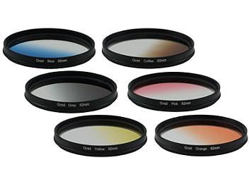 Globalmediapro Graduated Color Filter Kit 003 62mm, 6pcs