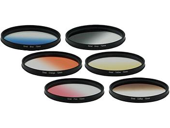 Globalmediapro Graduated Color Filter Kit 003 72mm, 6pcs