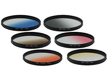 Globalmediapro Graduated Color Filter Kit 003 77mm, 6pcs