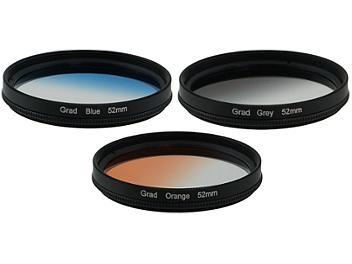 Globalmediapro Graduated Color Filter Kit 004 52mm, 3pcs