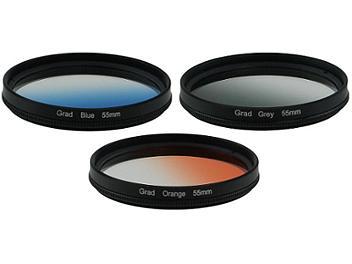 Globalmediapro Graduated Color Filter Kit 004 55mm, 3pcs