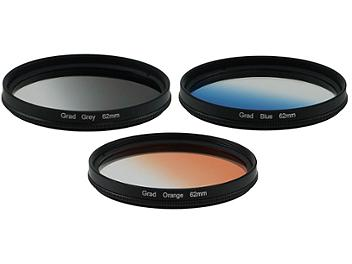 Globalmediapro Graduated Color Filter Kit 004 62mm, 3pcs
