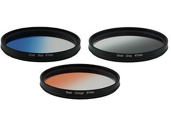 Globalmediapro Graduated Color Filter Kit 004 67mm, 3pcs