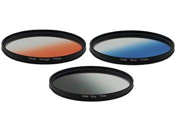 Globalmediapro Graduated Color Filter Kit 004 77mm, 3pcs