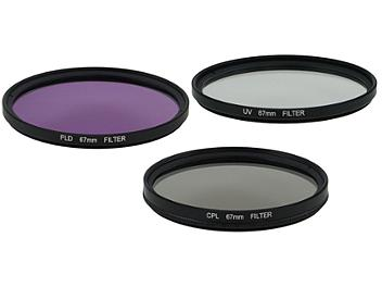Globalmediapro Filter Kit 005 (UV, CPL, FLD) 67mm, 3 pcs