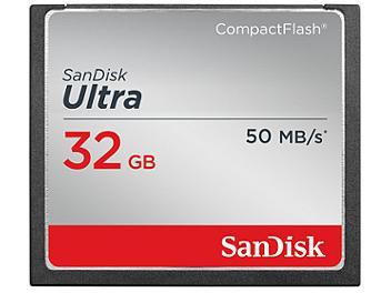 SanDisk 32GB Ultra CompactFlash Memory Card 50MB/s