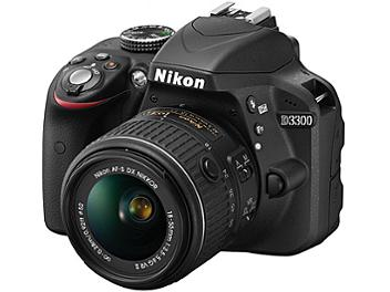 Nikon D3300 DSLR Camera Kit with 18-55mm VR II Lens