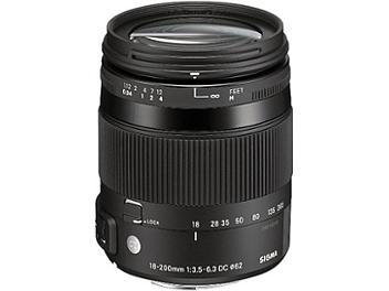 Sigma 18-200mm F3.5-6.3 DC Macro OS HSM Lens - Canon Mount
