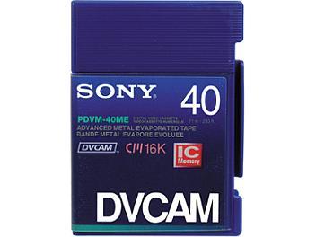 Sony PDVM-40ME DVCAM Cassette (pack 20 pcs)