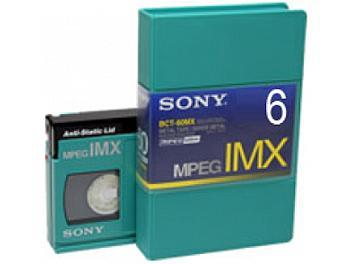 Sony BCT-6MX MPEG IMX Cassette (pack 50 pcs)