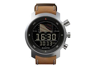 Suunto SS014526000 Elementum Ventus Brown Leather Watch