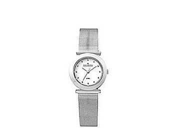 Skagen 107SSSD Silver Tone Steel Mesh Women's Watch