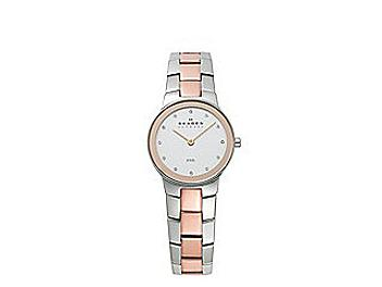 Skagen 430SSRX Two Tone Link Watch