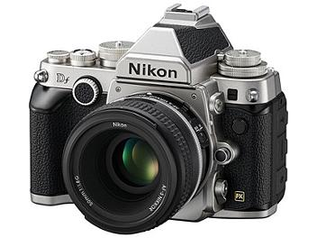 Nikon Df DSLR Camera Kit with 50mm Lens - Silver