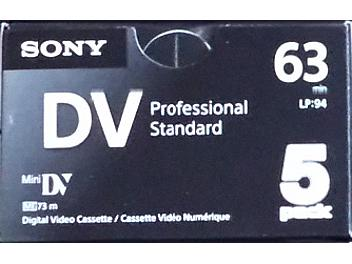 Sony 5DVM63PS mini-DV Cassette (pack 50 pcs)