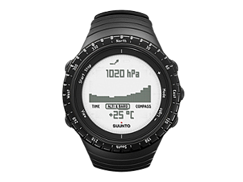 Suunto SS014809000 Core Watch - Regular Black