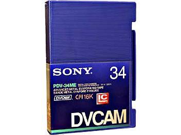 Sony PDVM-34ME DVCAM Cassette (pack 5 pcs)