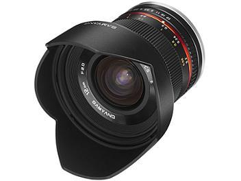 Samyang 12mm F2.0 NCS CS Lens - Canon EF-M Mount