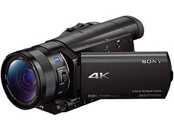 Sony FDR-AX100 4K Camcorder PAL