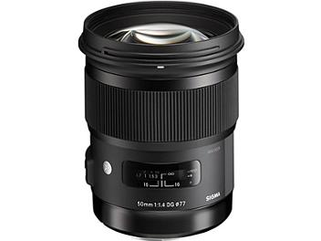 Sigma 50mm F1.4 DG HSM Art Lens - Nikon Mount