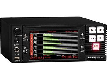 Sound Devices 970 64-channel Dante and MADI Audio Recorder