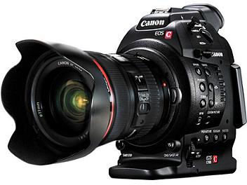 Canon EOS C100 EF Mount Cinema Camcorder with 24-105mm F4L Lens