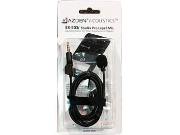 Azden EX-503i Smartphone Omni-Directional Lavalier Microphone