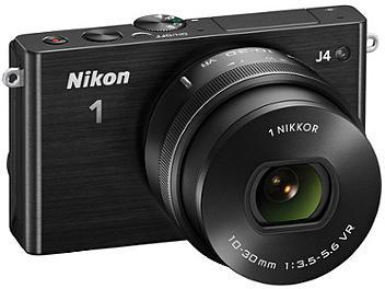 Nikon 1 J4 Camera Kit with 10-30mm Lens - Black
