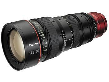 Canon CN-E 14.5-60mm T2.6 L S Cinema Lens - EF Mount