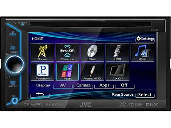 JVC KW-V10 6.1-Inch DVD-USB Multimedia Receiver