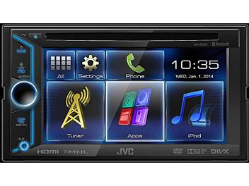 JVC KW-V30BT 6.1-Inch Bluetooth-DVD-USB Multimedia Receiver