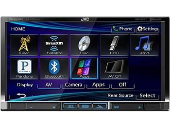 JVC KW-V40BT 7-Inch Bluetooth-DVD-USB Multimedia Receiver