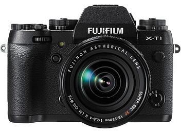 Fujifilm X-T1 Mirrorless Digital Camera Kit with 18-55mm Lens
