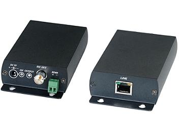 Globalmediapro SHE SDI05A Active Type HD-SDI CAT5 Extender (Transmitter and Receiver)