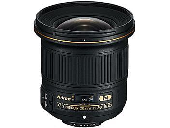 Nikon 20mm F1.8G AF-S ED Nikkor Lens