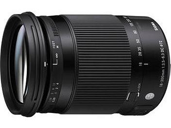 Sigma 18-300mm F3.5-6.3 DC Macro OS HSM Lens - Nikon Mount