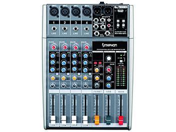 naphon c 412fx 4 channel usb mini audio mixer. Black Bedroom Furniture Sets. Home Design Ideas