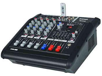 Naphon PM-425USB 4-channel USB Audio Powered Mixer