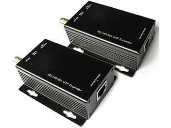 Beneston VCF-SU01TX/RX SD / HD-SDI CAT5/6 Video UTP Extender (Transmitter and Receiver)