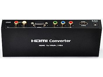 ASK HDCRGB0102 HDMI to VGA+Ypbpr+Audio Converter