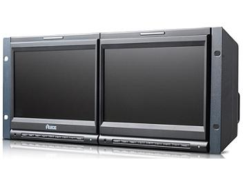 Ruige TL-S900HD-2 2 x 9-inch Rackmount HD-SDI Monitor