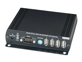 Globalmediapro SHE HKM01 HDMI CAT5 Extender with IR, KVM, USB, RS232 (Transmitter and Receiver)